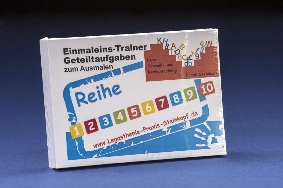 Einmaleins-Trainer Geteiltaufgaben zum Ausmalen