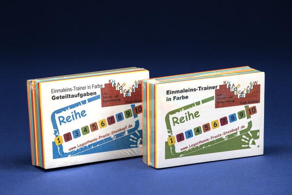 Einmaleins-Trainer in Farbe Set