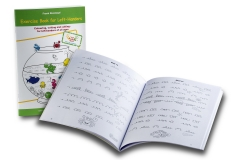Exercise book for left-handers