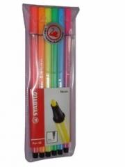 Stabilo Pen 68 Neon 6er Fasermaler