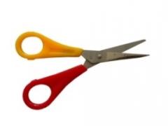 Linkshänder Bastelschere spitz für Kinder
